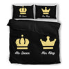 Image of Her King His Queen Bedding Set