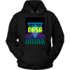 Image of NASA Geek Retro Hoodie