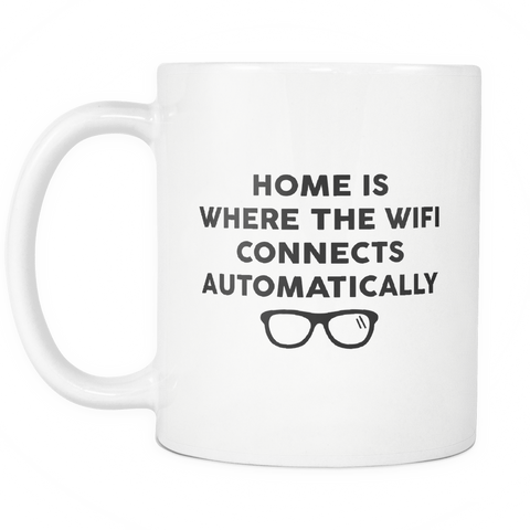 Geek Mugs - Home Is