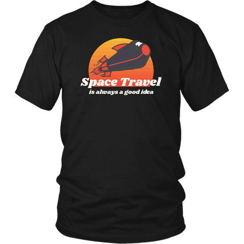 Space Travel Time Tshirt