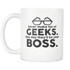 Image of Geek Mugs - Never Make Fun Of Geeks