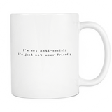 Geek Mugs - Anti-social
