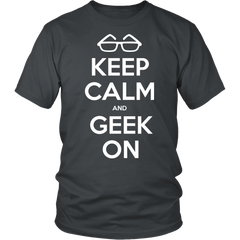 Geek Tee - Keep Calm