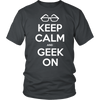 Image of Geek Tee - Keep Calm