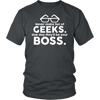 Image of Geek Tee - Never Make Fun Of Geeks