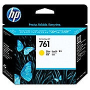 HP 761 Printhead, Inkjet, Yellow, (CH645A) - Ink and Toner - Hewlett Packard - [variant_title] -Asktech Business Solutions Printer Repair Edmonton and Area