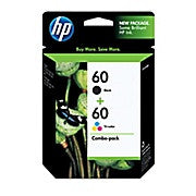HP 60 Black & Tri-Colour Original Ink Cartridges, 2/Pack (N9H63FN), Ink and Toner, Hewlett Packard, Asktech Business Equipment Repair and Sales, [variant_title] - Asktech Business Equipment