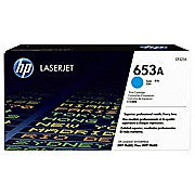 HP 653A Toner Cartridge, Laser, Cyan, (CF321AC) - Ink and Toner - Hewlett Packard - [variant_title] -Asktech Business Solutions Printer Repair Edmonton and Area