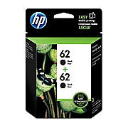 HP 62 Black Original Ink Cartridges, 2/Pack (T0A52AN), Ink and Toner, Hewlett Packard, Asktech Business Equipment Repair and Sales, [variant_title] - Asktech Business Equipment