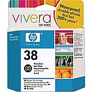 HP 38 Photo Black Pigment Original Ink Cartridge (C9413A), Ink and Toner, Hewlett Packard, Asktech Business Equipment Repair and Sales, [variant_title] - Asktech Business Equipment