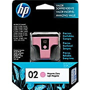 HP 02 Light Magenta Original Ink Cartridge (C8775WN) - Ink and Toner - Hewlett Packard - [variant_title] -Asktech Business Solutions Printer Repair Edmonton and Area
