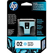 HP 02 Light Cyan Original Ink Cartridge (C8774WN) - Ink and Toner - Hewlett Packard - [variant_title] -Asktech Business Solutions Printer Repair Edmonton and Area
