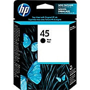 HP 45 Black Original Ink Cartridge (51645A), Ink and Toner, Hewlett Packard, Asktech Business Equipment Repair and Sales, [variant_title] - Asktech Business Equipment