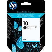 HP 10 Black Original Ink Cartridge (C4844A) - Ink and Toner - Hewlett Packard - [variant_title] -Asktech Business Solutions Printer Repair Edmonton and Area
