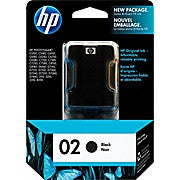 HP 02 Black Original Ink Cartridge (C8721WN) - Ink and Toner - Hewlett Packard - [variant_title] -Asktech Business Solutions Printer Repair Edmonton and Area