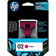 HP 02 Magenta Original Ink Cartridge (C8772WN) - Ink and Toner - Hewlett Packard - [variant_title] -Asktech Business Solutions Printer Repair Edmonton and Area