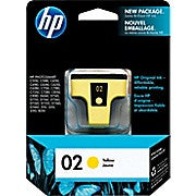 HP 02 Yellow Original Ink Cartridge (C8773WN) - Ink and Toner - Hewlett Packard - [variant_title] -Asktech Business Solutions Printer Repair Edmonton and Area