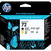 HP C9384A 72 Printhead, Matte Black/Yellow - Ink and Toner - Hewlett Packard - [variant_title] -Asktech Business Solutions Printer Repair Edmonton and Area