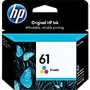 HP 61 Tri-Colour Original Ink Cartridge (CH562WN), Ink and Toner, Hewlett Packard, Asktech Business Equipment Repair and Sales, [variant_title] - Asktech Business Equipment