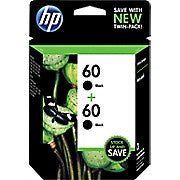 HP 60 Black Original Ink Cartridges, 2/Pack (CZ071FN), Ink and Toner, Hewlett Packard, Asktech Business Equipment Repair and Sales, [variant_title] - Asktech Business Equipment