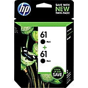 HP 61 Black Original Ink Cartridges, 2/Pack (CZ073FN), Ink and Toner, Hewlett Packard, Asktech Business Equipment Repair and Sales, [variant_title] - Asktech Business Equipment