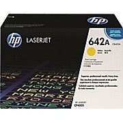 HP 642A (CB402A) Yellow Original LaserJet Toner Cartridge, Ink and Toner, Hewlett Packard, Asktech Business Equipment Repair and Sales, [variant_title] - Asktech Business Equipment