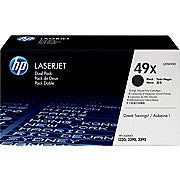 HP 49X (Q5949XD) Black High Yield Original LaserJet Toner Cartridges, 2/Pack, Ink and Toner, Hewlett Packard, Asktech Business Equipment Repair and Sales, [variant_title] - Asktech Business Equipment