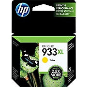 HP 933XL Yellow High Yield Original Ink Cartridge (CN056AN) - Ink and Toner - Hewlett Packard - [variant_title] -Asktech Business Solutions Printer Repair Edmonton and Area