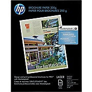 "HP® Laser Brochure Paper, 8-1/2"" x 11"", Glossy - Ink and Toner - Hewlett Packard - [variant_title] -Asktech Business Solutions Printer Repair Edmonton and Area"