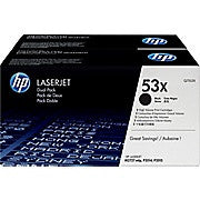 HP 53X (Q7553XD) Black High Yield Original LaserJet Toner Cartridges, 2/Pack, Ink and Toner, Hewlett Packard, Asktech Business Equipment Repair and Sales, [variant_title] - Asktech Business Equipment