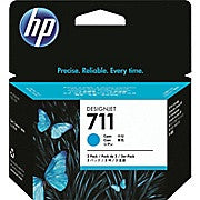 HP 711 Cyan Ink Cartridge, 3/Pack (CZ134A), Ink and Toner, Hewlett Packard, Asktech Business Equipment Repair and Sales, [variant_title] - Asktech Business Equipment