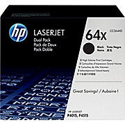 HP 64X (CC364XD) Black High Yield Original LaserJet Toner Cartridges, 2/Pack, Ink and Toner, Hewlett Packard, Asktech Business Equipment Repair and Sales, [variant_title] - Asktech Business Equipment