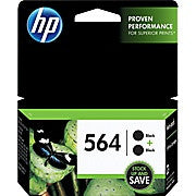 HP 564 Black Original Ink Cartridges, 2/Pack (C2P51FN), Ink and Toner, Hewlett Packard, Asktech Business Equipment Repair and Sales, [variant_title] - Asktech Business Equipment