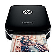 HP Sprocket Photo Printer, Black, Ink and Toner, Hewlett Packard, Asktech Business Equipment Repair and Sales, [variant_title] - Asktech Business Equipment
