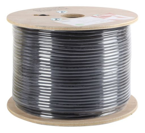 24/0.2 BLACK DOUBLE INSULATED SPEAKER CABLE 200m Roll