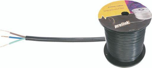 MAINS 240VAC 10A 3-CORE CABLE 100m Roll
