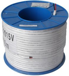 TWIN FLAT POWER CABLE 2.5mm² 100m Roll