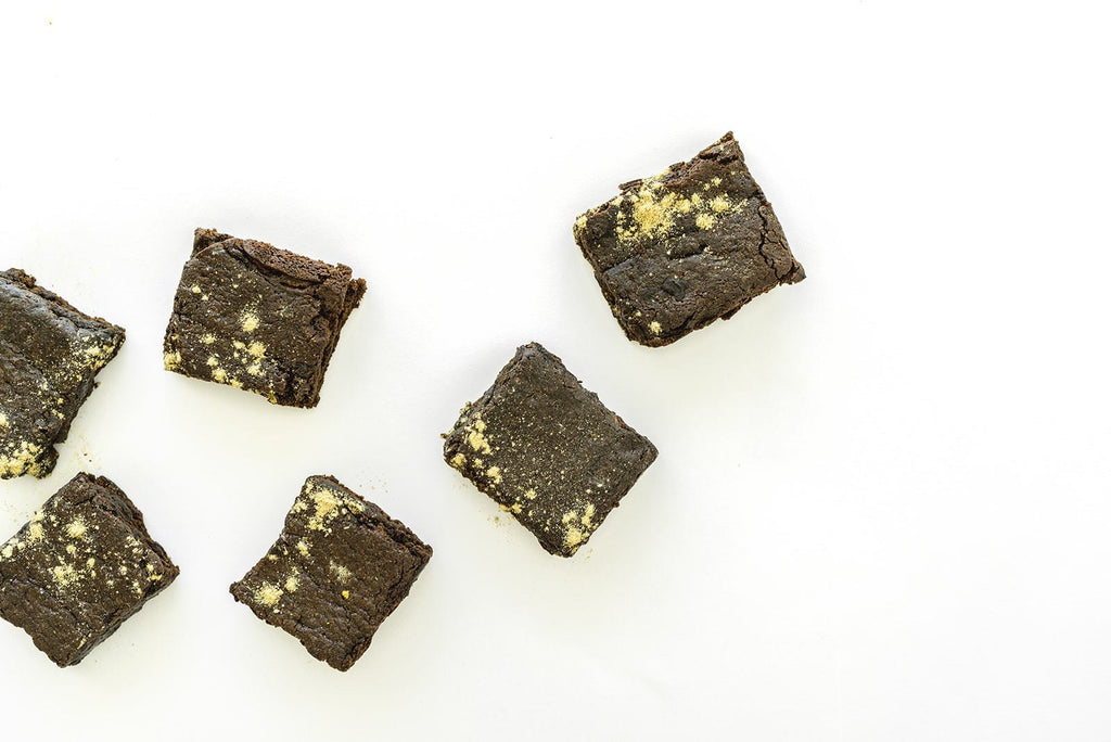 Two-Way Chocolate Lactation Brownies