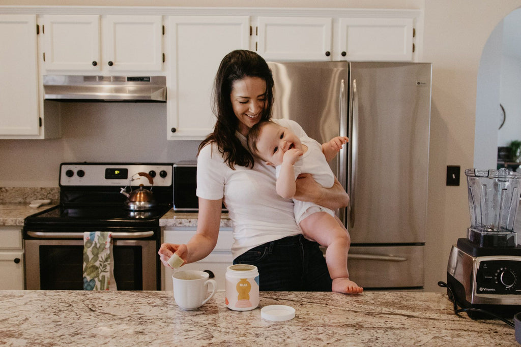 Majka Booster Helps Relieve New Mom Stress