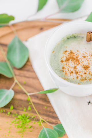 Nutritional, superfood latte recipes for moms - Majka