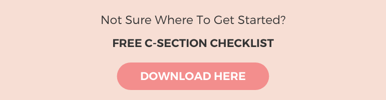 image for download c-section checklist