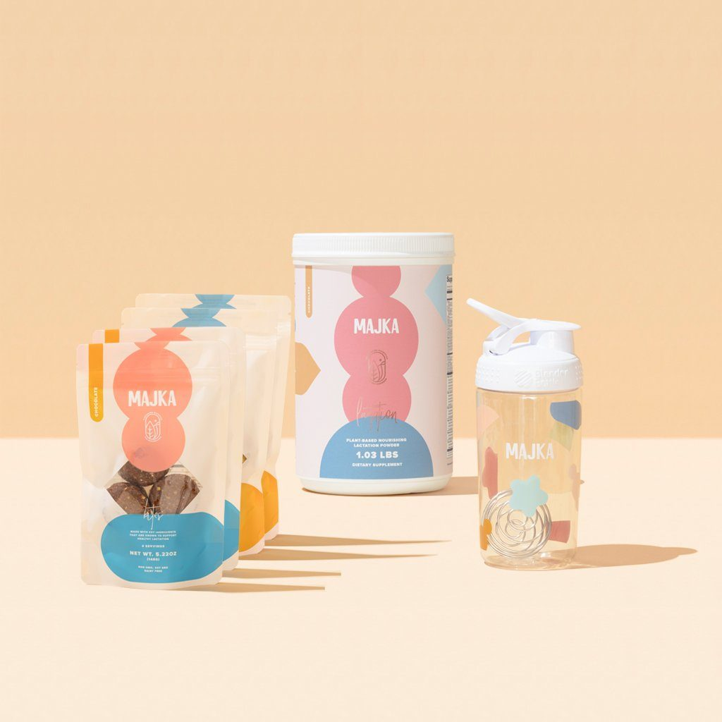 NOURISHING LACTATION POWDER+ BITES+ SHAKER