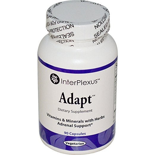 Interplexus Adapt Capsules, 90 Count Supports healthy adrenal  function*