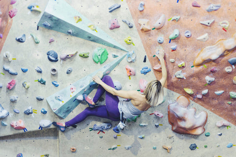 Bouldering is a fun family-friendly spring break activity