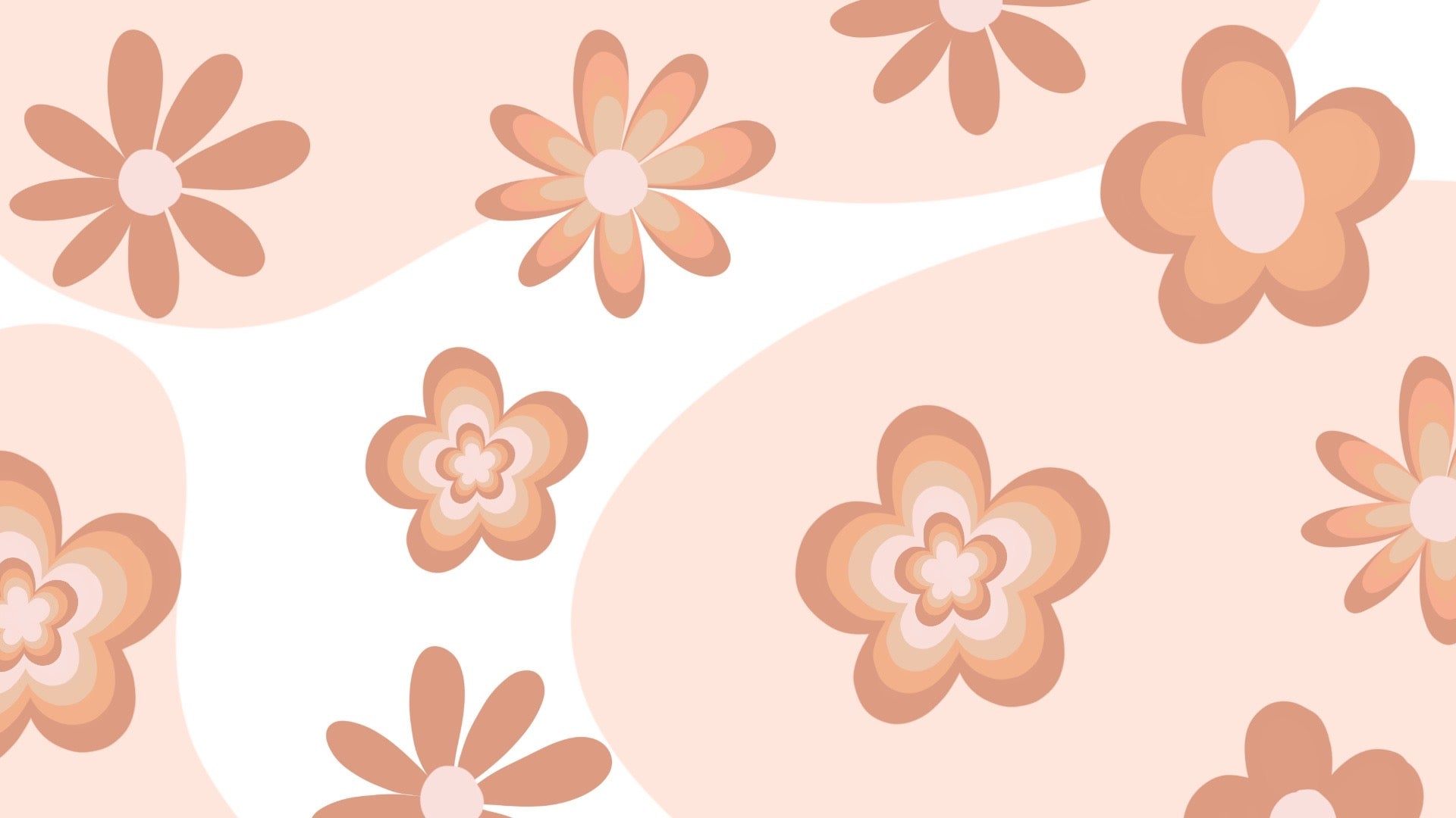 Flower Power Zoom Background