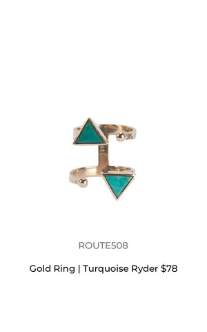 Route508 Turquoise ring