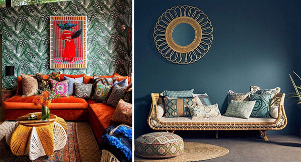 How to Transform Any Room into a Boho Luxe Space   Bohemian Mama
