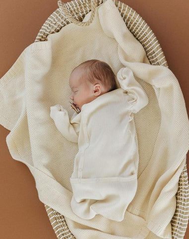 Fin & Vince Layette Ribbed Sack