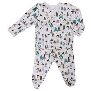 Reindeer Long Sleeve Pajamas by Skylar Luna