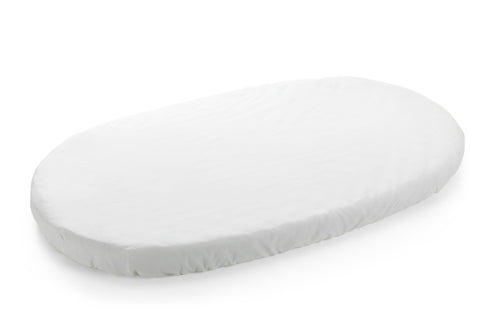 Stokke Sleepi Fitted Sheet White